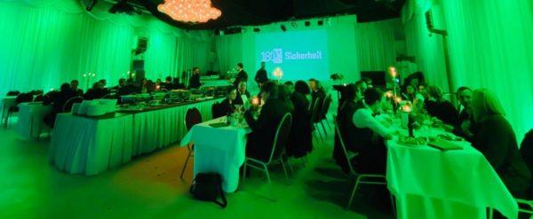 Dinnerparty zum fünfjährigen Firmenjubiläum