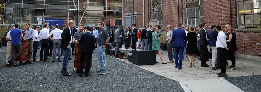 Die Veranstaltung fand in industrieller Kulisse des Areal Böhler statt