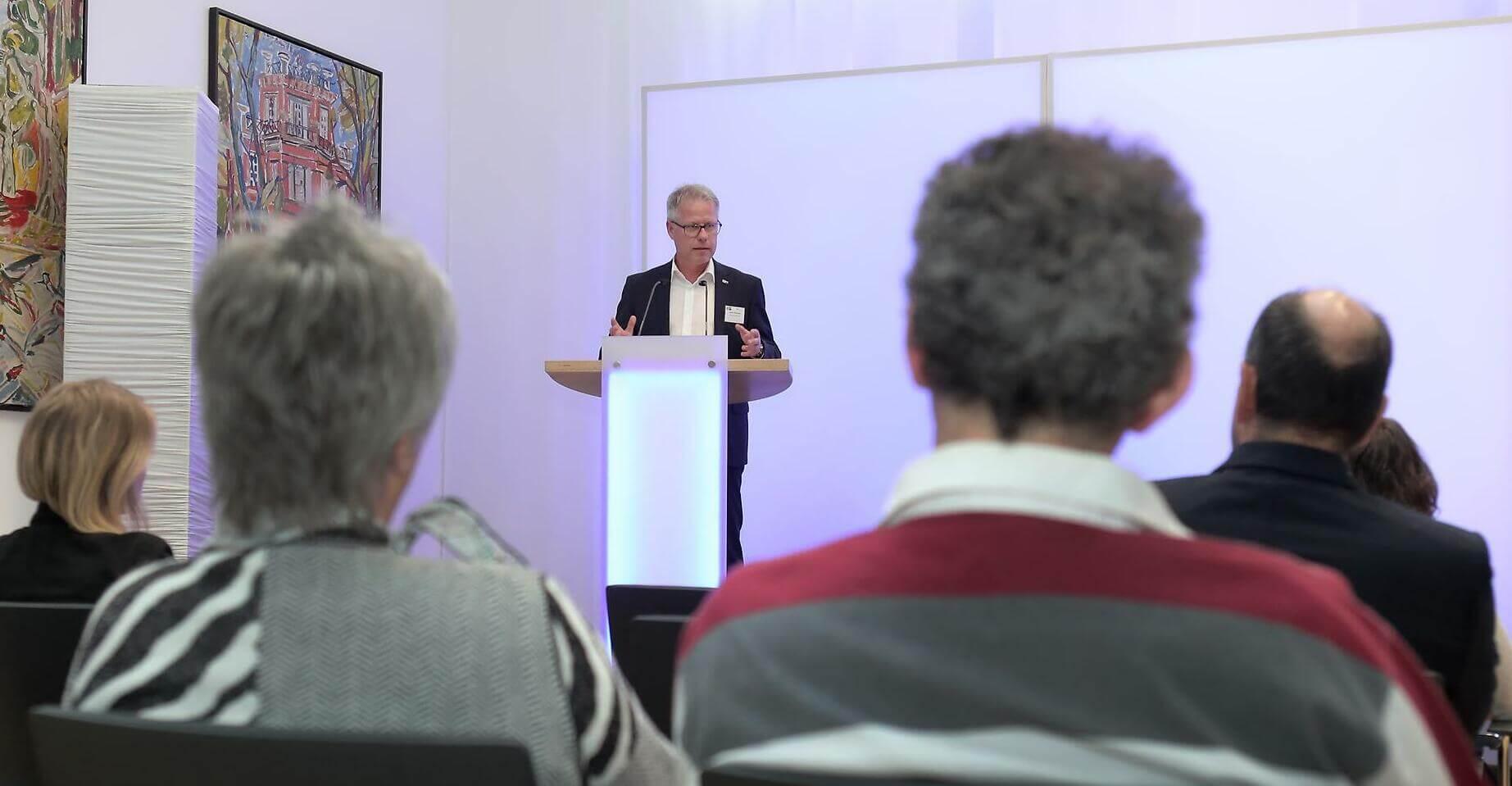 Jürgen Steinmetz beim IHK Award
