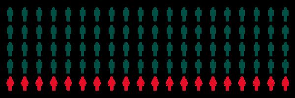 Täteranalyse - Geschlechterverteilung der Einbrecher