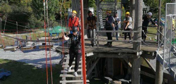 Team-Event der 180° Sicherheit - Klettern