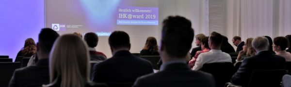 Verleihung des IHK Award 2019