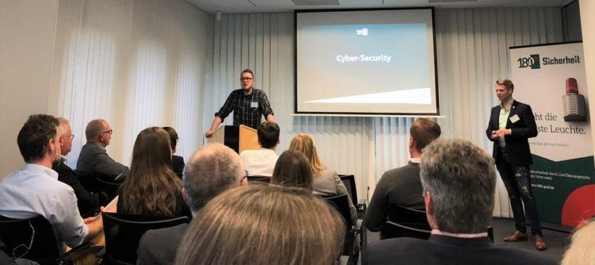 Vortrag zum Thema Cyber-Security