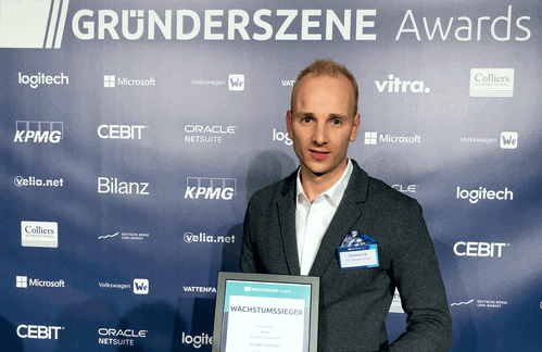 Gründerszene Wachstums-Award